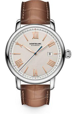 Montblanc Watches - Star Legacy Stainless Steel & Alligator Strap Watch