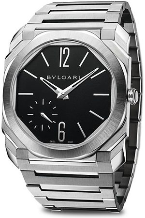 Bvlgari Octo Finissimo Extra-Thin Satin-Polished Steel Bracelet Watch