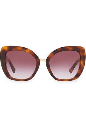 VALENTINO Sunglasses - Allure 54MM Tortoiseshell Sunglasses