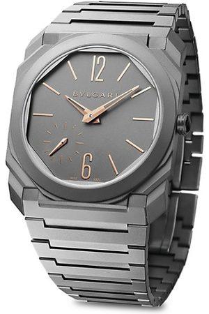 Bvlgari Octo Finissimo Extra-Thin Titanium Bracelet Watch