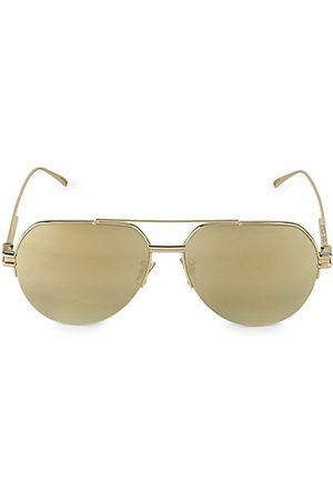 Bottega Veneta Sunglasses - 59MM Aviator Sunglasses