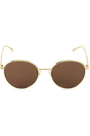 Bottega Veneta 57MM Round Sunglasses