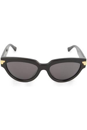 Bottega Veneta 55MM Narrow Sunglasses