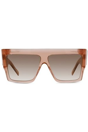 Céline 60MM Flat-Top Square Sunglasses