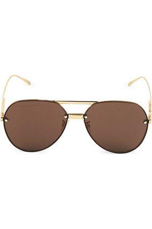 Bottega Veneta 61MM Aviator Sunglasses