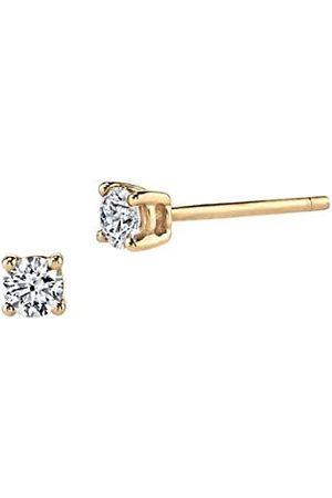 Anita 18K Yellow & Diamond Stud Earrings