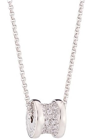 Bvlgari Necklaces - B.zero1 18K & Pavé Diamond Necklace