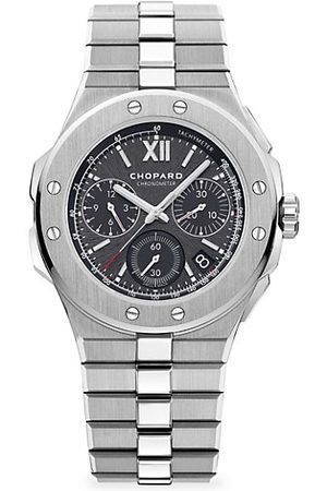 Chopard Alpine Eagle Chronograph Stainless Steel & Grey-Dial Bracelet Watch