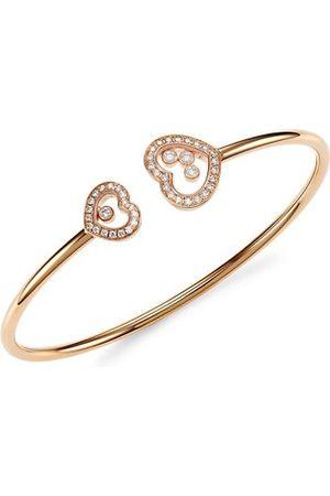 Chopard Happy Diamonds 18K Rose & Diamond Bangle