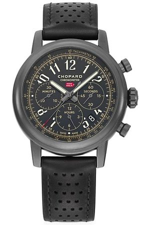 Chopard Mille Miglia Limited Edition Stainless Steel & Leather Strap Chronograph Watch