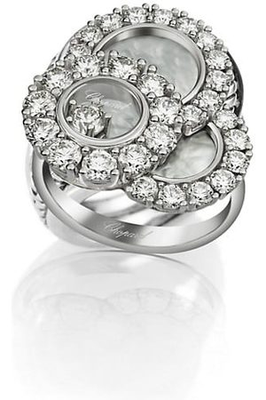 Chopard Happy Dreams Diamond, Mother-Of-Pearl & 18K Ring