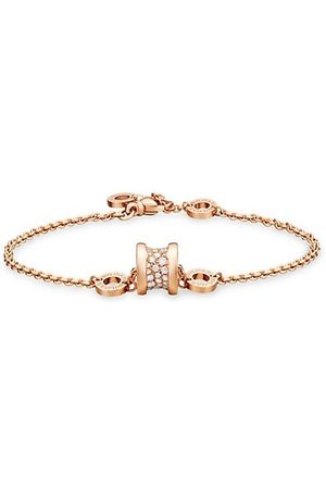 Bvlgari Bracelets - B.zero1 18K Rose & Diamond Bracelet