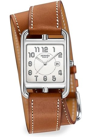 Hermès Cape Cod 29MM Stainless Steel & Leather Strap Watch