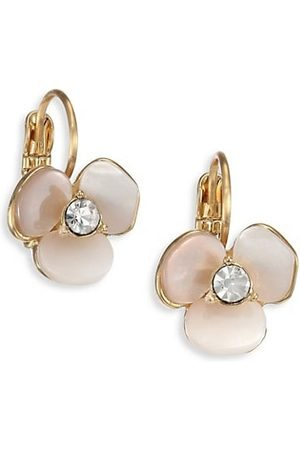 Kate Spade Earrings - Disco Pansy Mother-Of-Pearl Leverback Earrings