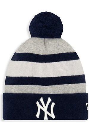 New Era EK New York Giants Striped Knit Beanie