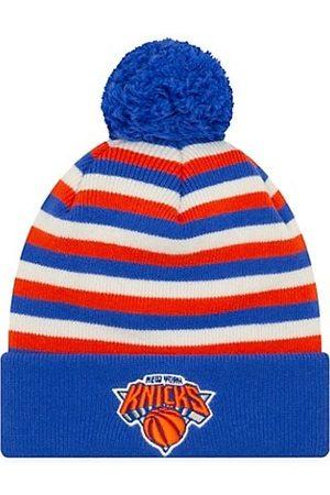 New Era EK Cashmere New York Knicks Striped Knit Beanie