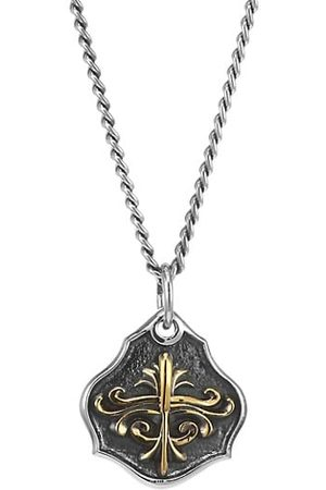 King Baby Studio Armor Sterling Shield Pendant Necklace
