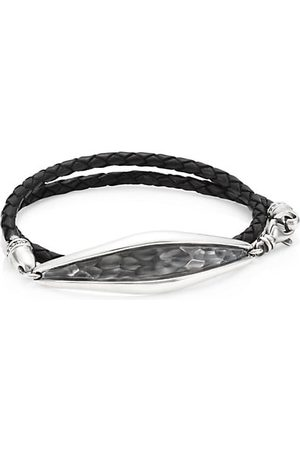 King Baby Studio Armor Hammered Sterling Cuff