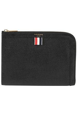 Thom Browne Mini Gusset Leather Folio