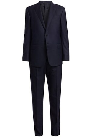 Armani Single-Breasted Wool Suit
