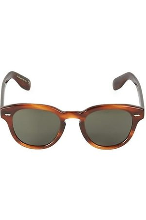 Oliver Peoples 50MM Cary Grant Polarized Round Sunglasses