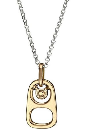 King Baby Studio Pop Top Goldplated Sterling Silver Pendant Necklace