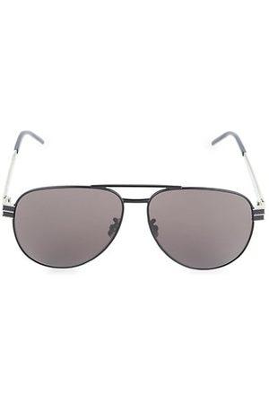 Saint Laurent 60MM Aviator Sunglasses