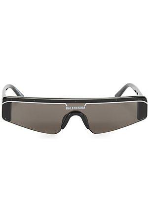 Balenciaga Men Sunglasses - 99MM Angular Shield Sunglasses