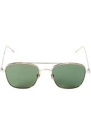 Cartier Men Sunglasses - 55MM Square Browline Sunglasses