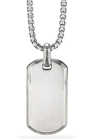 David Yurman Men Necklaces - The Streamline® Collection Sterling SIlver Tag Pendant