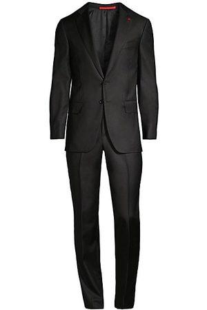 ISAIA New Sanita Basic Wool Suit