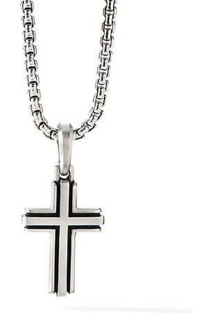 David Yurman Men Necklaces - Deco Sterling Cross Pendant