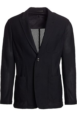 Armani Textured Wool Sport Jacket