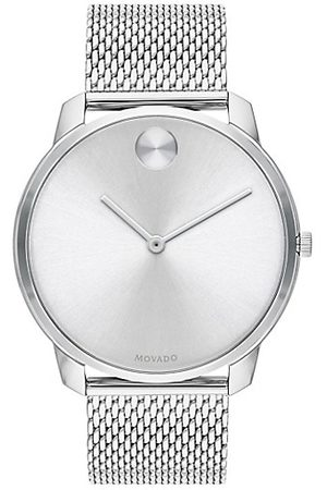 Movado Men Watches - BOLD Stainless Steel Mesh Bracelet Watch