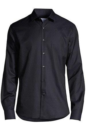 Salvatore Ferragamo Men Casual - Basic Woven Print Shirt