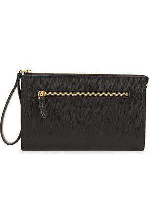 Salvatore Ferragamo Men Briefcases - Small Revival Leather Document Holder