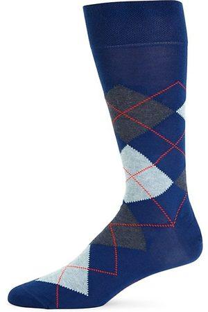 Marcoliani Argyle Crew Socks