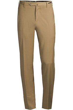 PT01 Traveller Slim-Fit Performance Wool Trousers