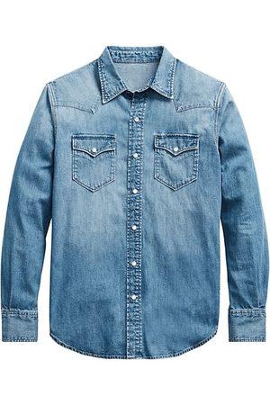 Ralph Lauren Western Denim Button-Down Shirt