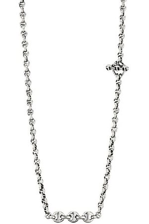 Hoorsenbuhs Open-Link 5MM Sterling & Diamond Necklace