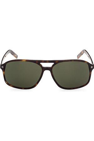 Z Zegna Men Sunglasses - 60MM Plastic Square Sunglasses