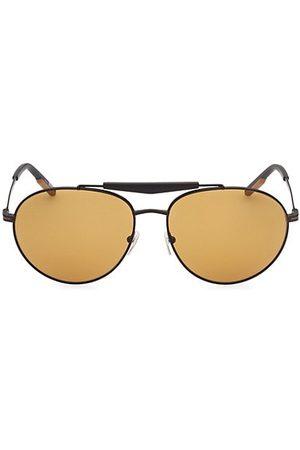 Z Zegna 61MM Metal Round Sunglasses