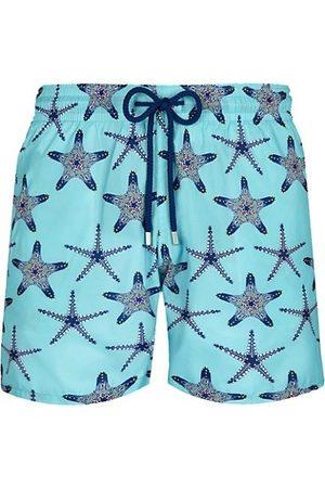 Vilebrequin Men Swimming Briefs - Starfish Print Swim Trunks