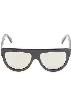 Céline 58MM Flat Top Pilot Sunglasses