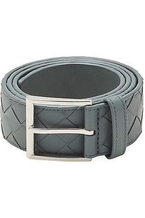 Bottega Veneta Men Belts - Intrecciato Leather Belt