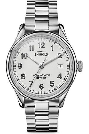 SHINOLA Men Watches - The Vinton Stainless Steel Bracelet Watch
