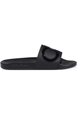 Salvatore Ferragamo Men Sandals - Men's Groove 2 Slides