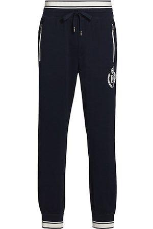 Dolce & Gabbana Crown Jersey Sweatpants