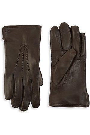 Saks Fifth Avenue COLLECTION Leather Touch Tech Gloves