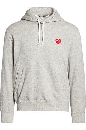 Comme des Garçons Jumpers - Play Hooded Sweatshirt